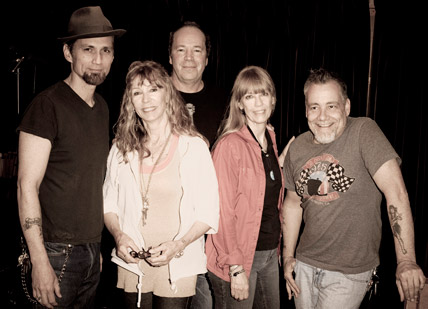 Carla Olson and James Intveld, Juice Newton, Tom Fillman, and Tony Marsico