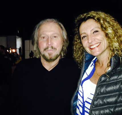 Barry Gibb - Ana Gazzola